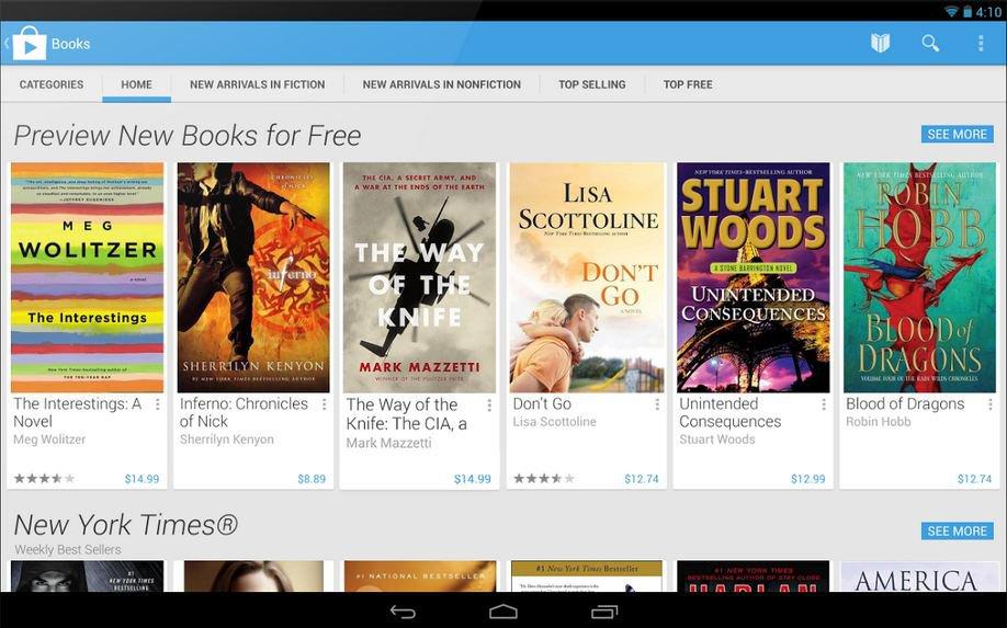 Google Play Tablette 2