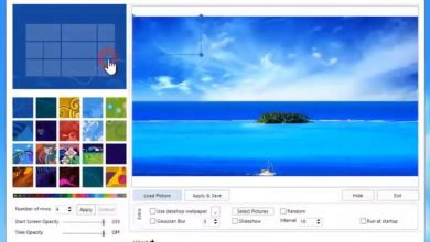 Photo de Windows 8 Start Screen Customizer pour un fond d'écran personnalisé
