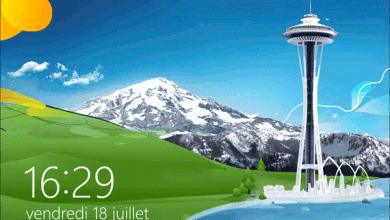 Photo de Désactiver l'écran de verrouillage de Windows 8