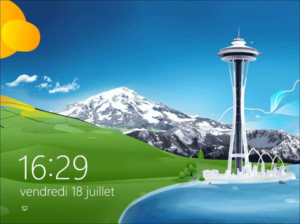 Désactiver l'écran de verrouillage de Windows 8