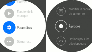 Photo de Android Wear et les Options Développeurs
