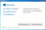 Windows 10 téléchargé et prêt pour installation