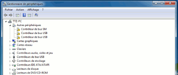Identifier les Périphériques Inconnus sous Windows