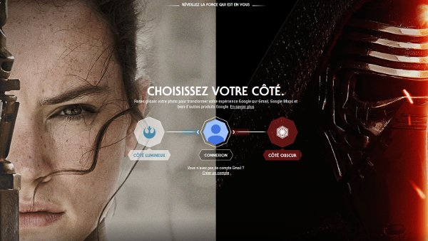 Photo of Thèmes Star Wars pour les services Google