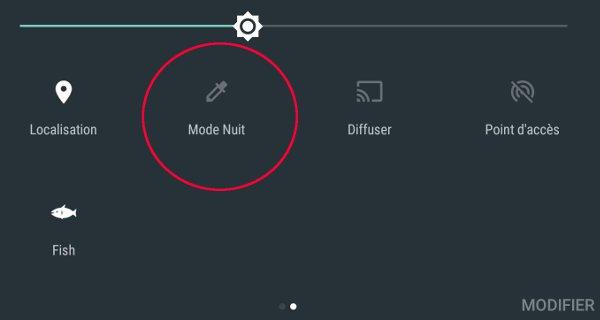 Android 7 Nougat : Retrouver le Mode Nuit
