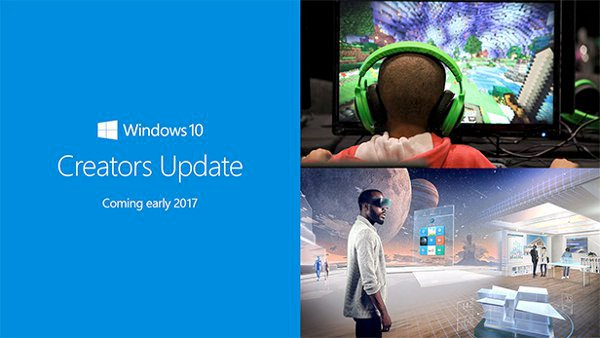 Windows 10 Creators Update : installation manuelle