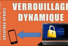 Windows 10 - Verrouillage Dynamique avec Smartphone