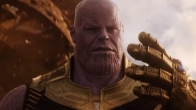 Photo de Thanos : un Easter-Egg pour la sortie d'Avengers