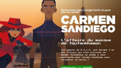 Carmen Sandiego : l'Affaire du Masque de Toutankhamon