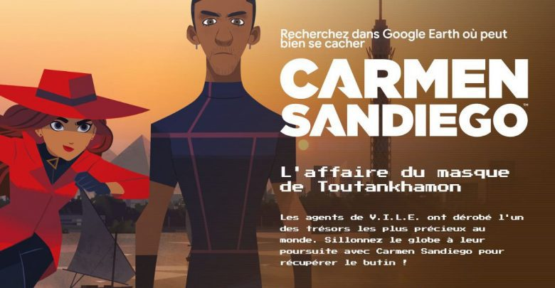 Photo of Carmen Sandiego est de retour dans Google Earth