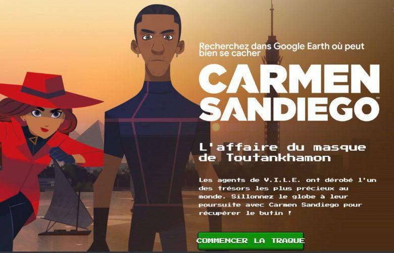 Carmen Sandiego : l'Affaire du Masque de Toutankhamon