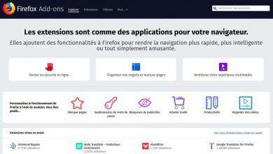 Photo de Firefox : extensions désactivées – Correctif en cours