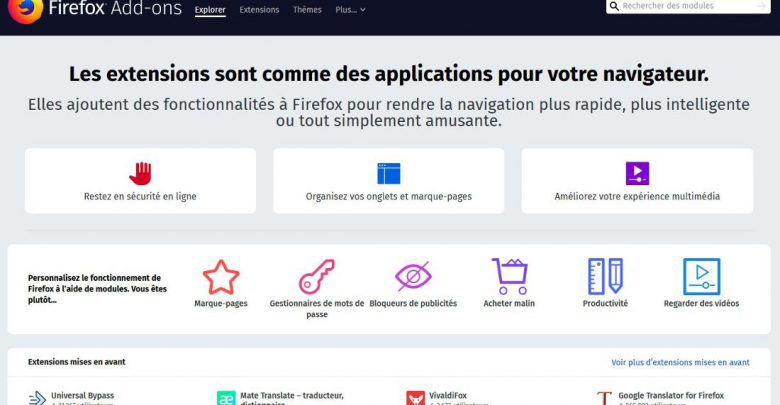 Photo of Firefox : extensions désactivées – Correctif en cours
